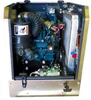 HP2000 24V APU - inside
